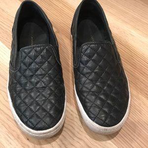 Rebecca Minkoff slip on leather shoe sz 8